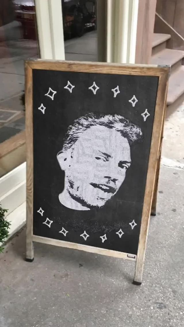 Instagram filter Chalkboard