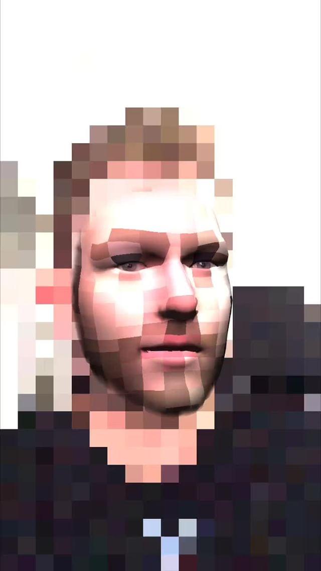 anonamister Instagram filter Face Bites