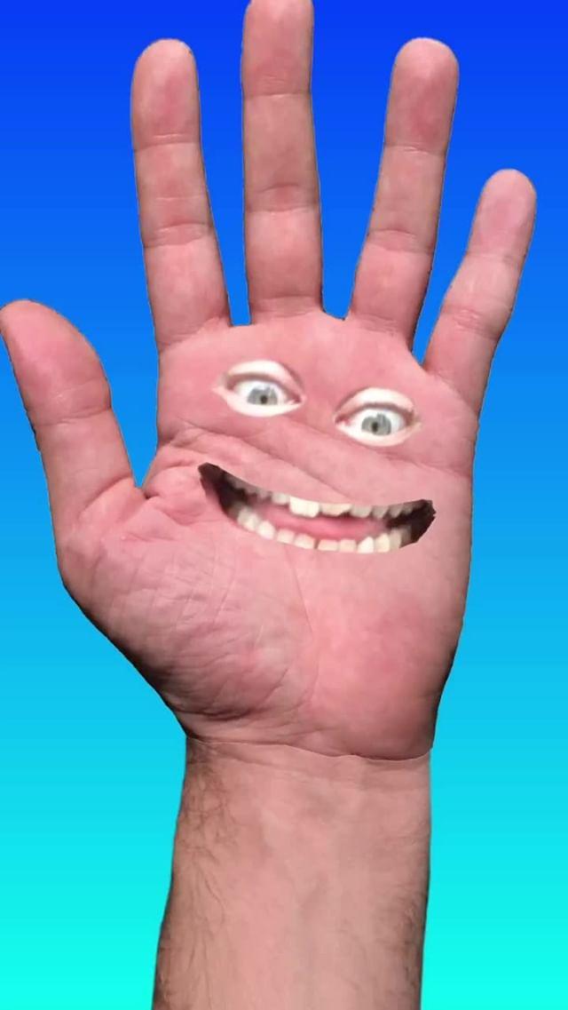 anonamister Instagram filter Chatty Hand