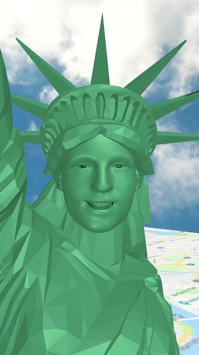 Instagram filter Liberty