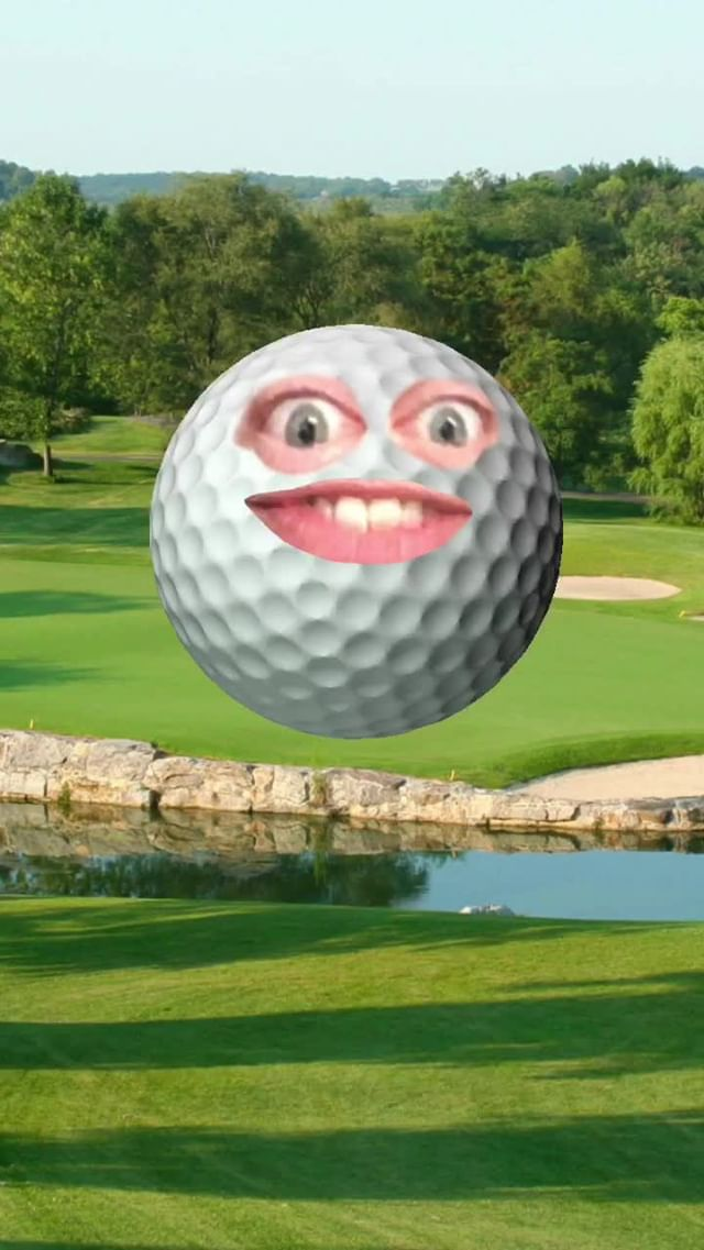 Instagram filter Oh, Golf Ball