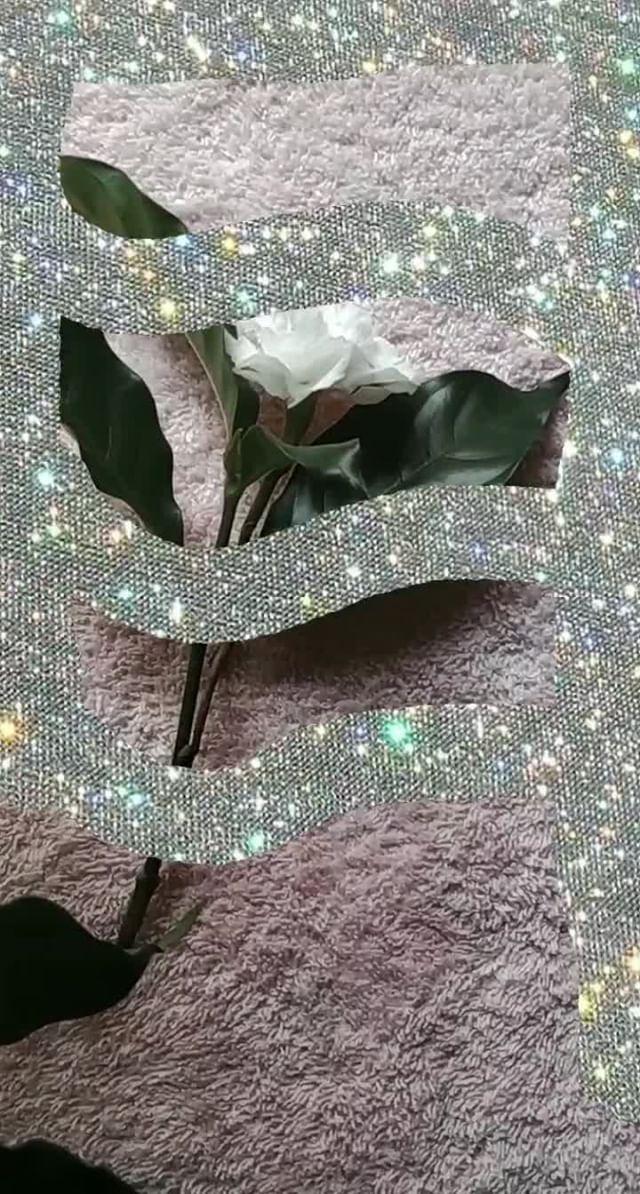 nahir.esper Instagram filter Glitter Strokes