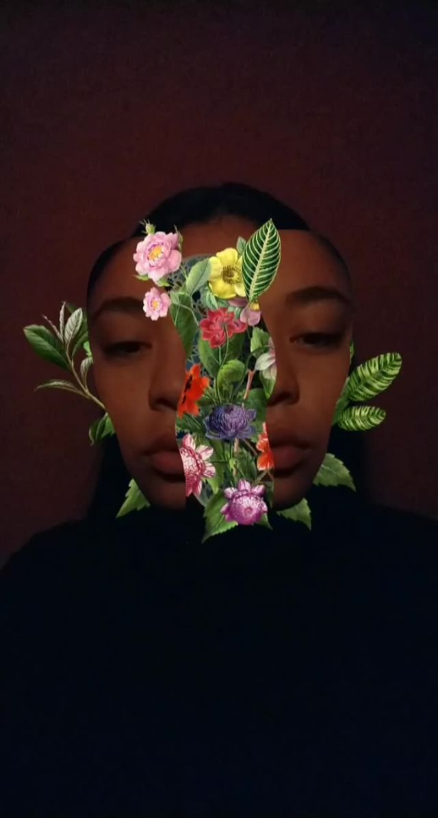 Instagram filter Flora II