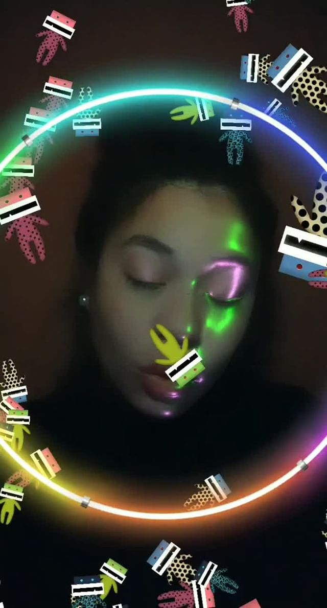 Instagram filter Microdancing