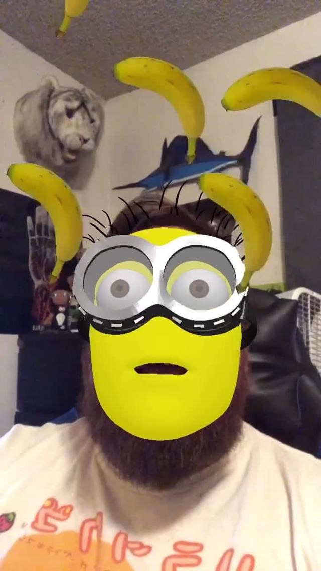 Instagram filter Minion Me