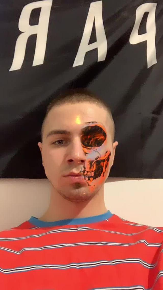 Instagram filter Skull Hybrid