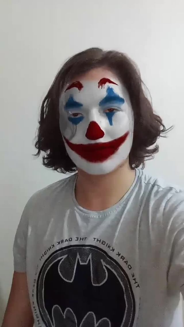 melihkutaykaya Instagram filter Joker