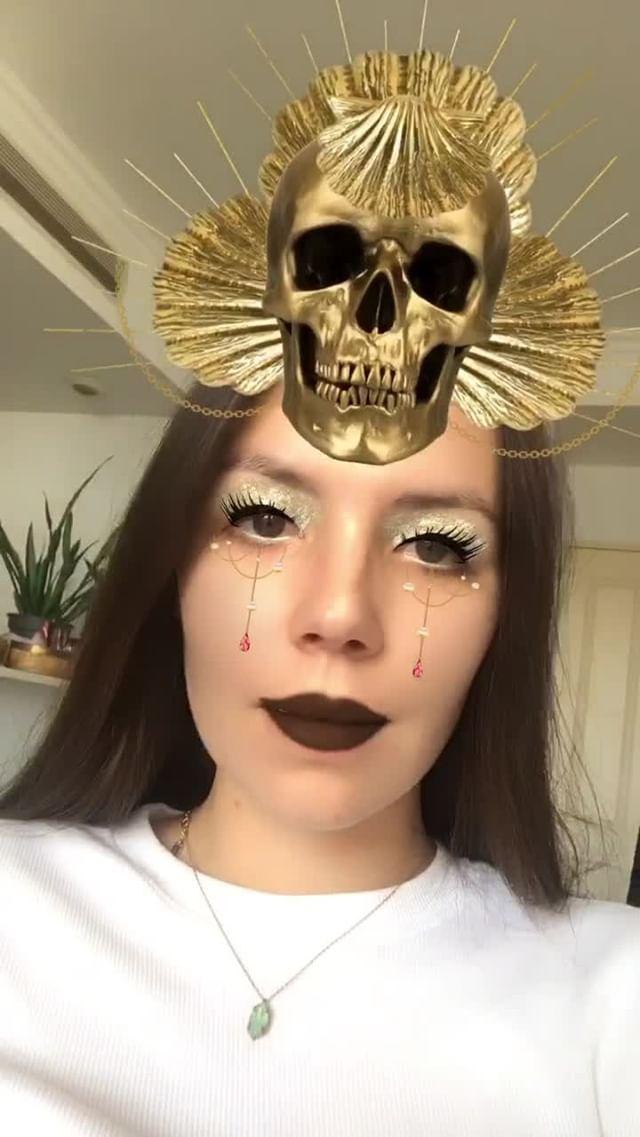 Instagram filter Glitter Queen