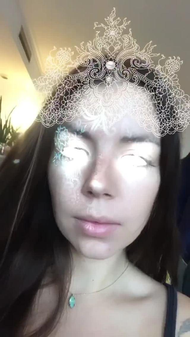 Instagram filter Lace Queen