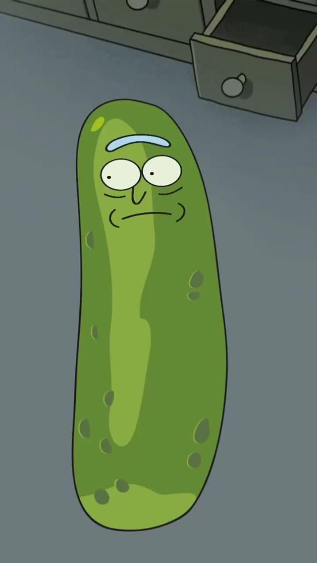Instagram filter Pickle Rick