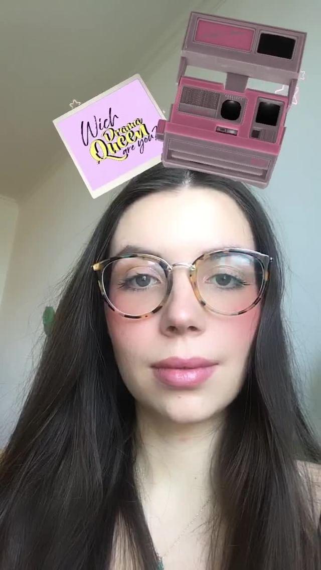 Instagram filter Which Drama Queen?