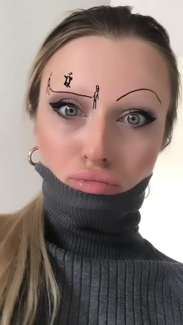 donikix Instagram filter mimi eye