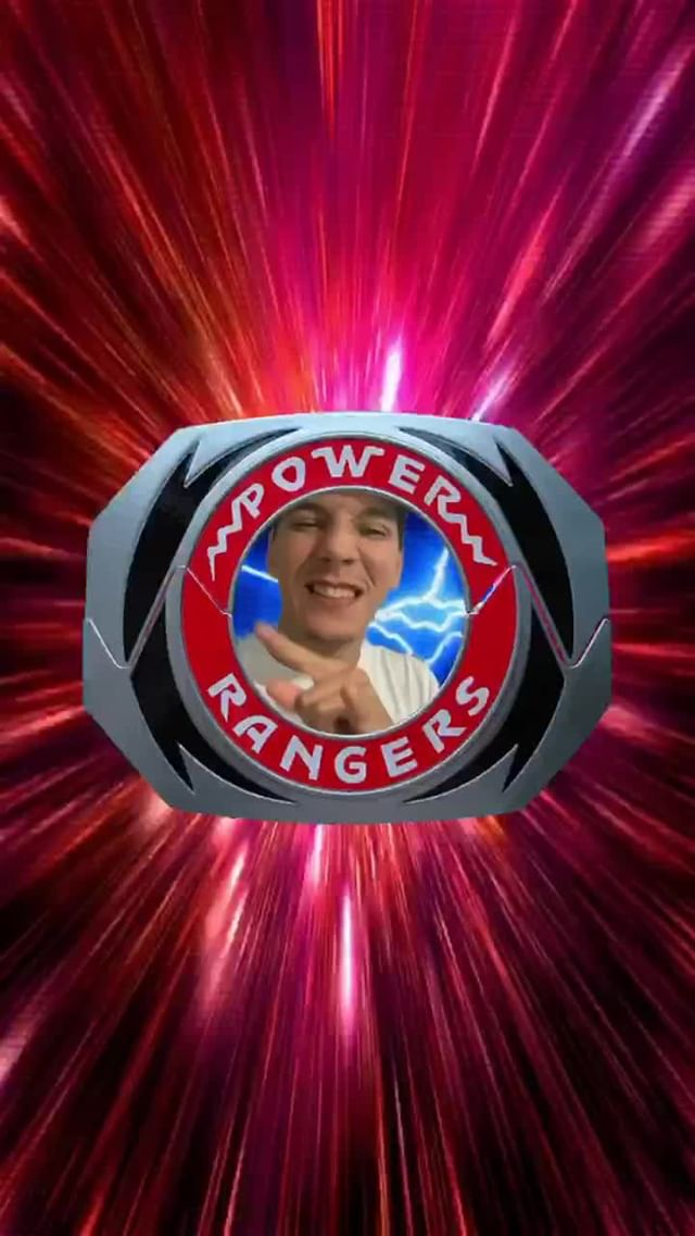 franckarnel Instagram filter It's Morphin Time
