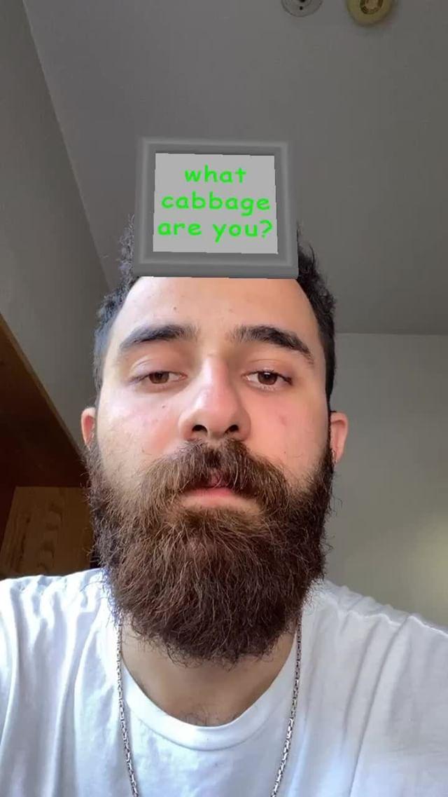 bariscavusoglu Instagram filter what CABBAGE?