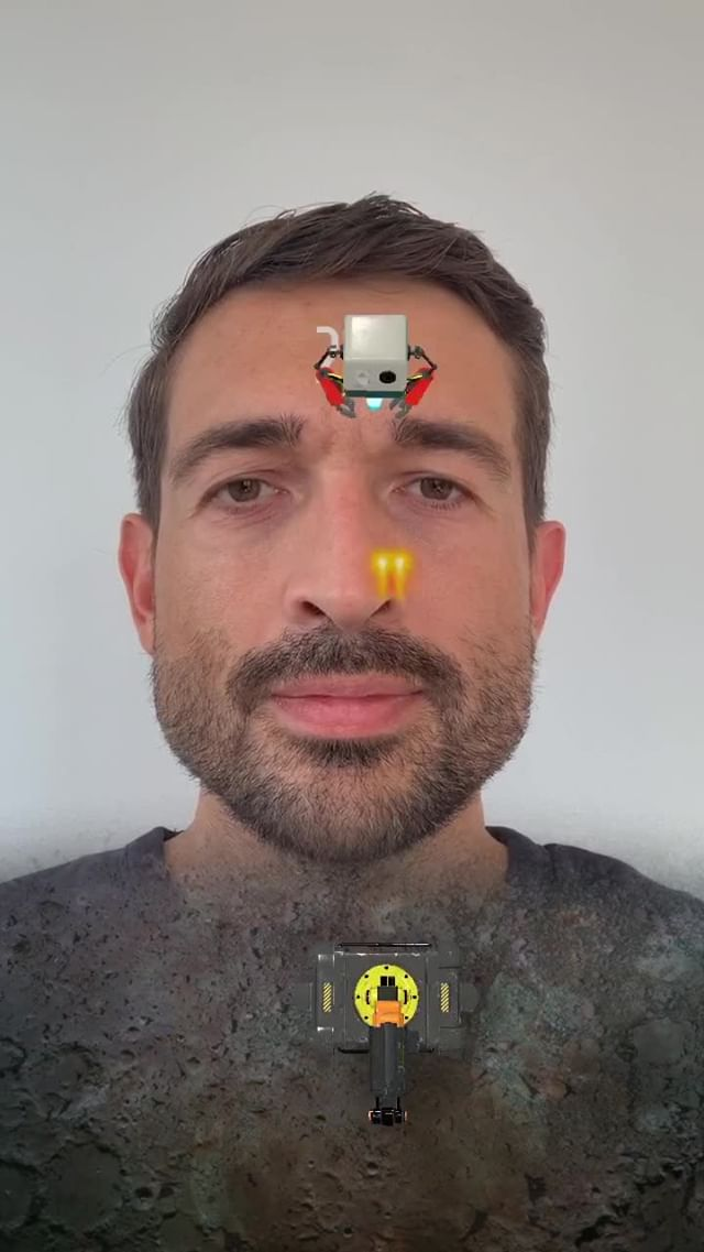 Instagram filter Eye Robot