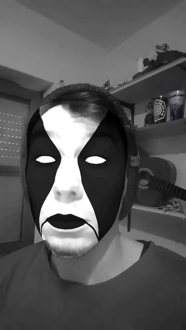 Instagram filter Abbath