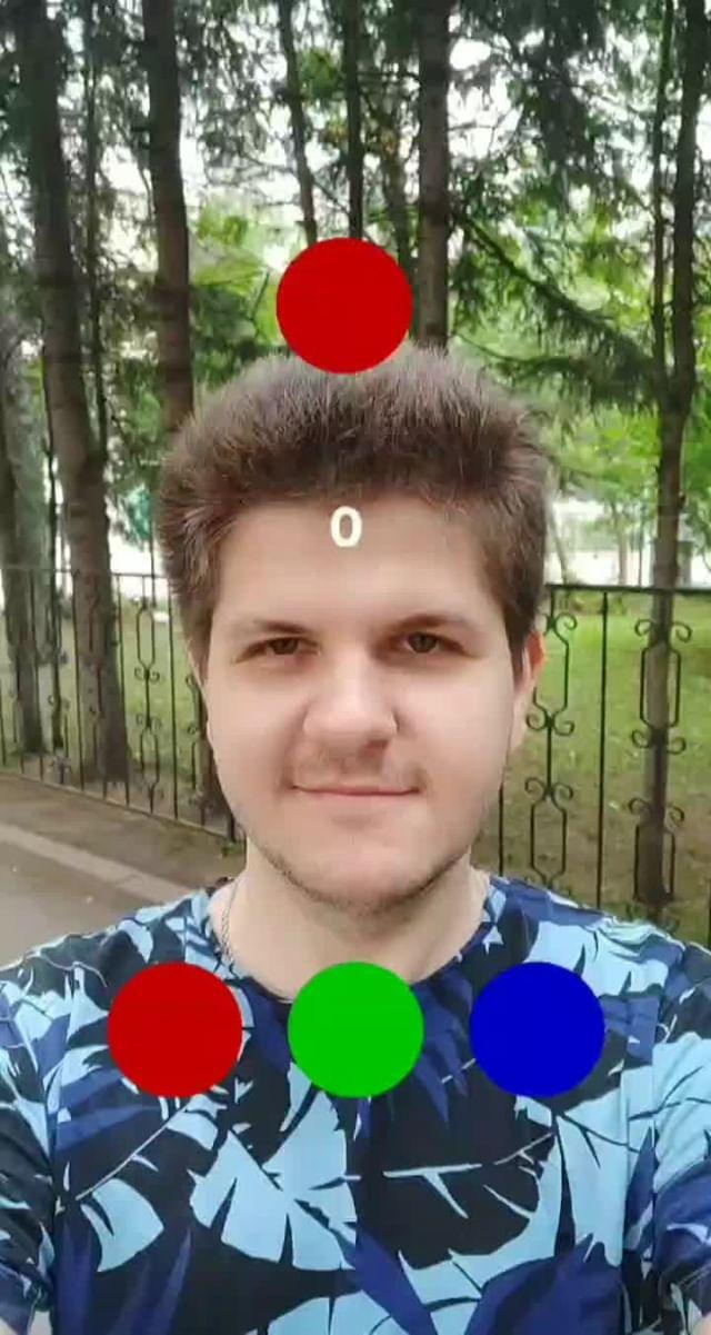 Instagram filter RGB Balls Game