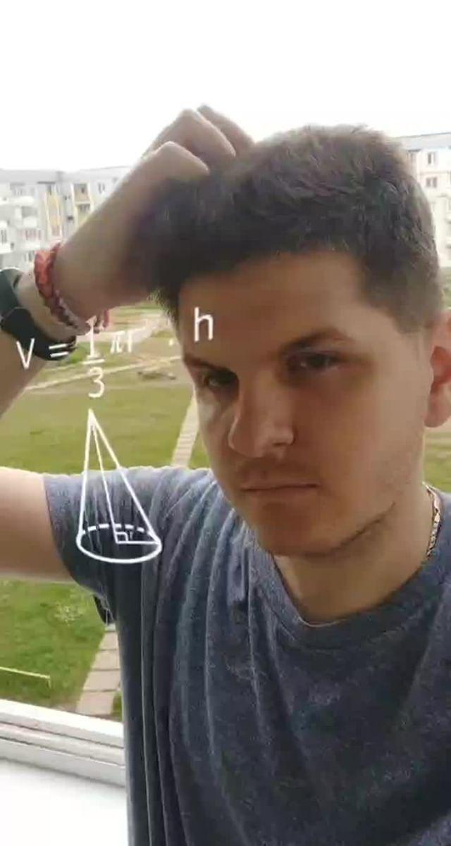 Instagram filter Math Thinking