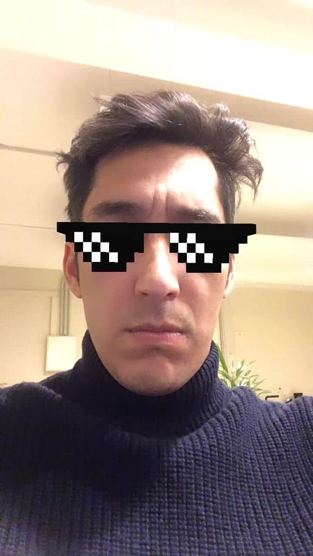 lagosito Instagram filter pixel glasses