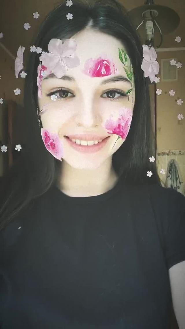 Instagram filter flowerangel