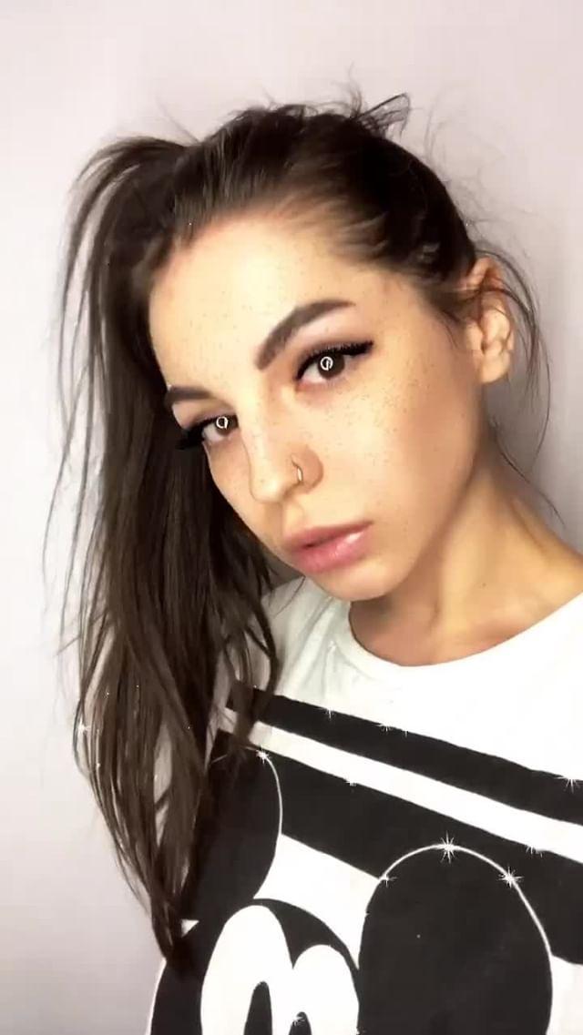 Instagram filter kirakira girl