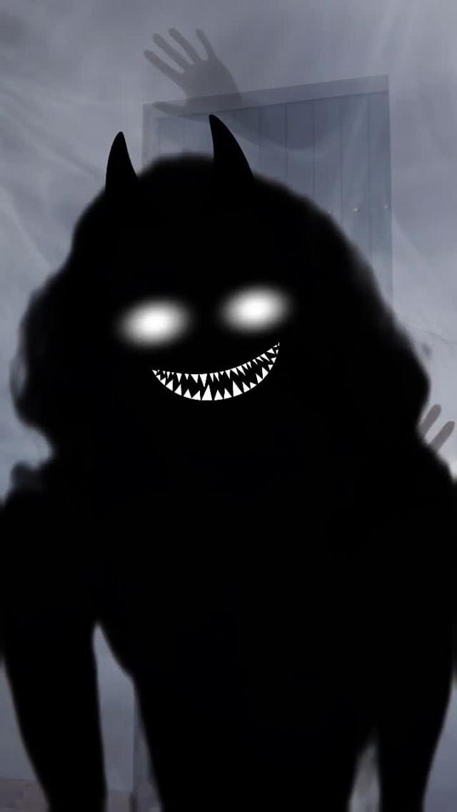 Instagram filter Ghoul