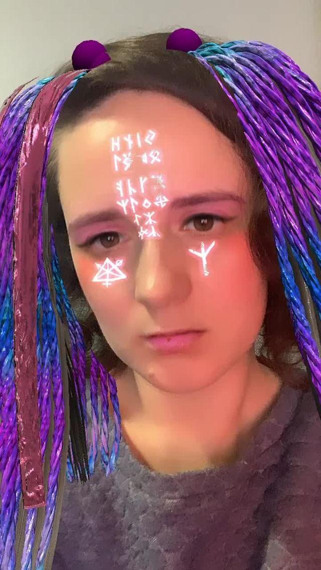 Instagram filter Rave