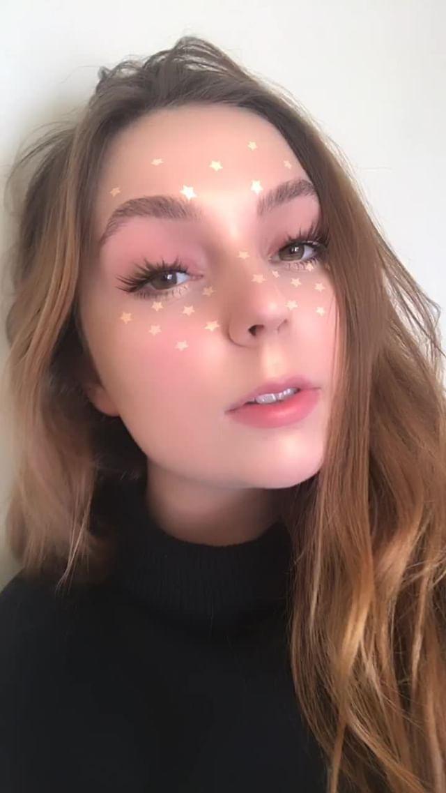 Instagram filter beauty queen