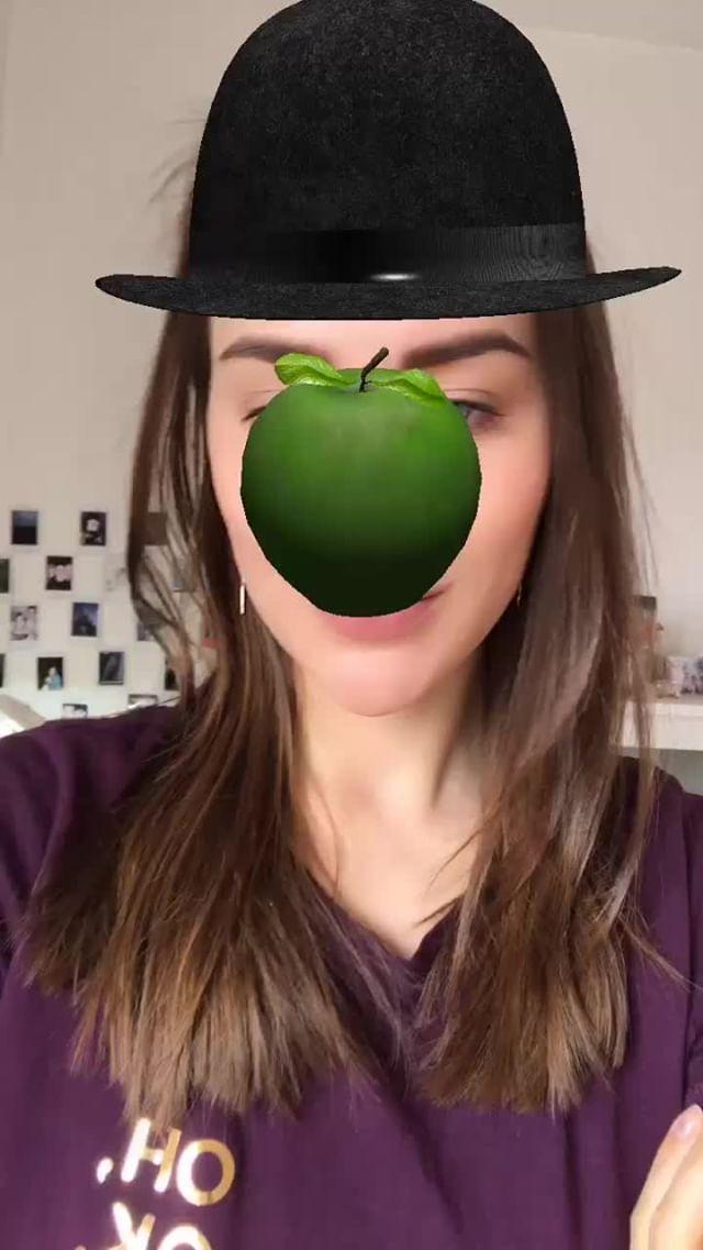 kusamukusa Instagram filter Magritte