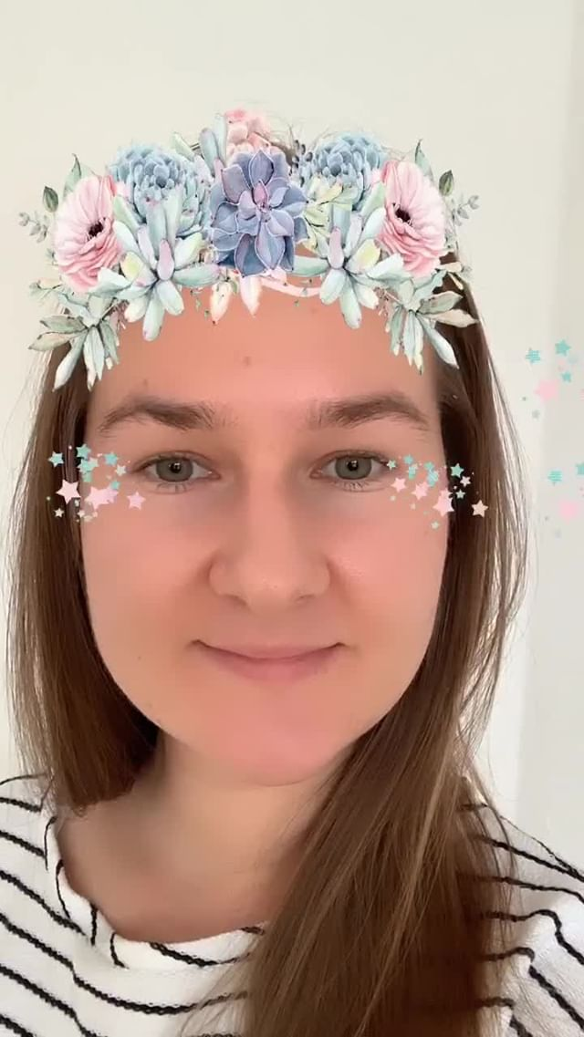 Instagram filter Flowers