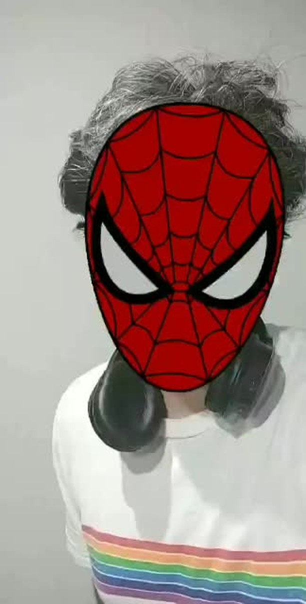 paskch Instagram filter SpidermanMask