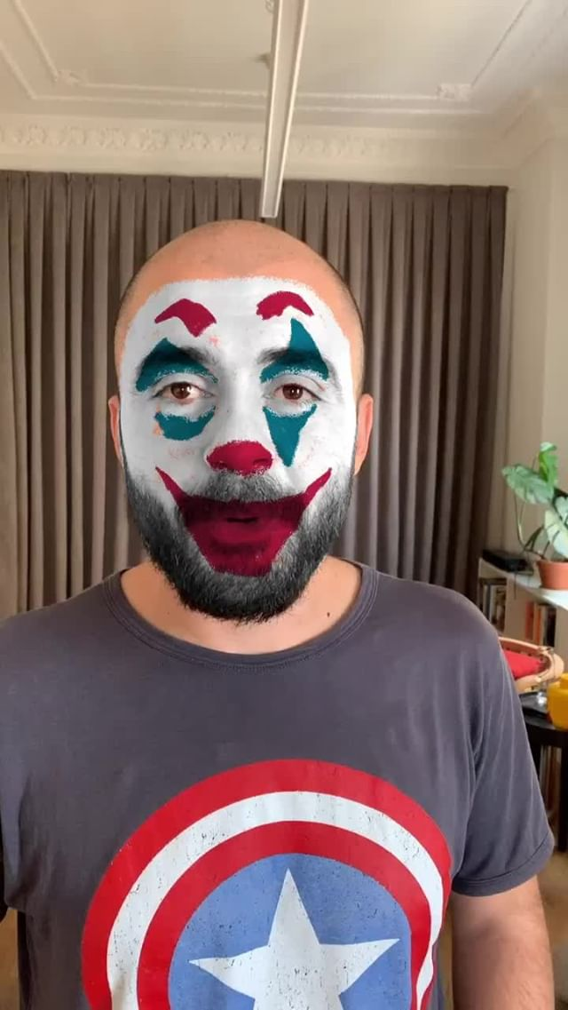 canerergur Instagram filter Joker