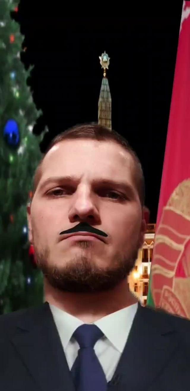 Instagram filter Президент Беларуси