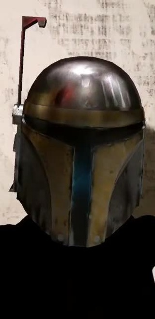 Instagram filter Mandalorian