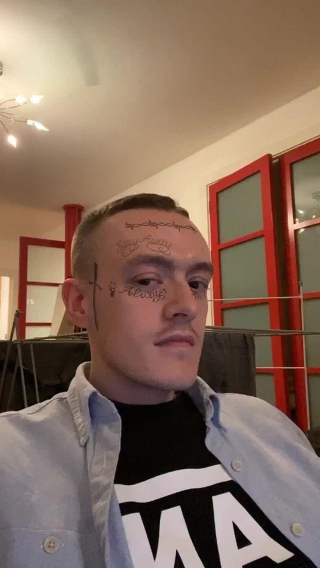 jamesfrewin Instagram filter Posty Face Tattoo