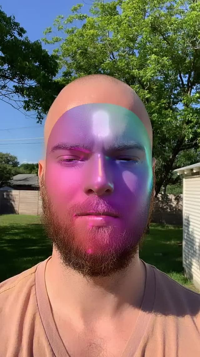 mattcrump Instagram filter Rainbow Mask