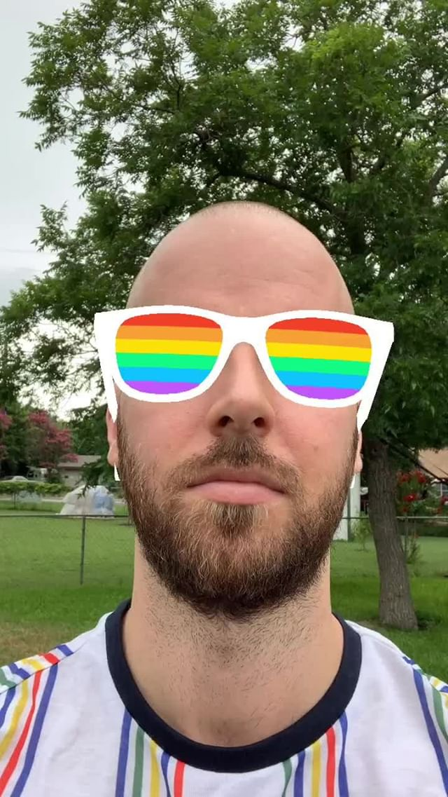 mattcrump Instagram filter Pride Sunglasses