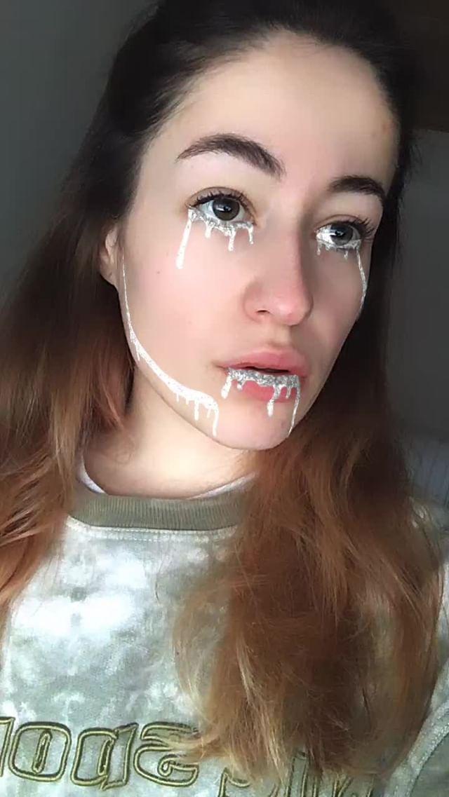 klxx80 Instagram filter Glitter Slime