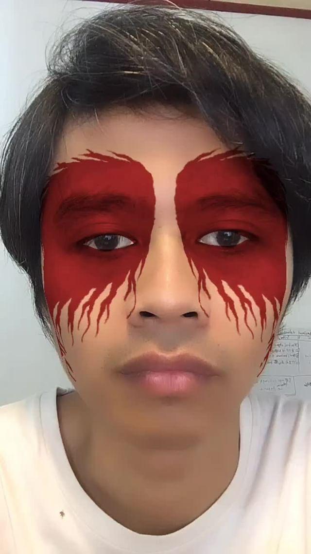 masqoi Instagram filter bleedin666 eyes