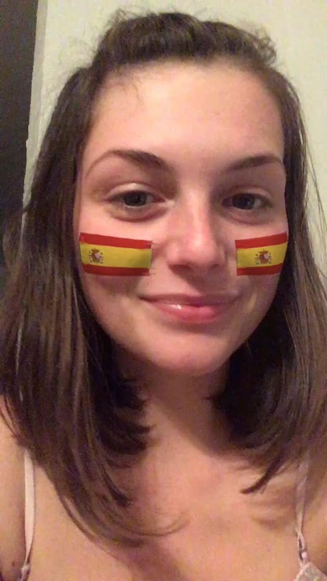 miss_liana.secret Instagram filter Spain flag