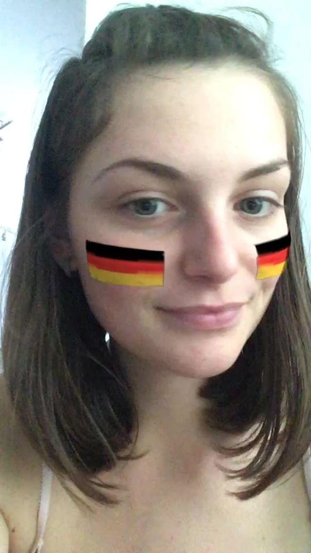 miss_liana.secret Instagram filter German flag