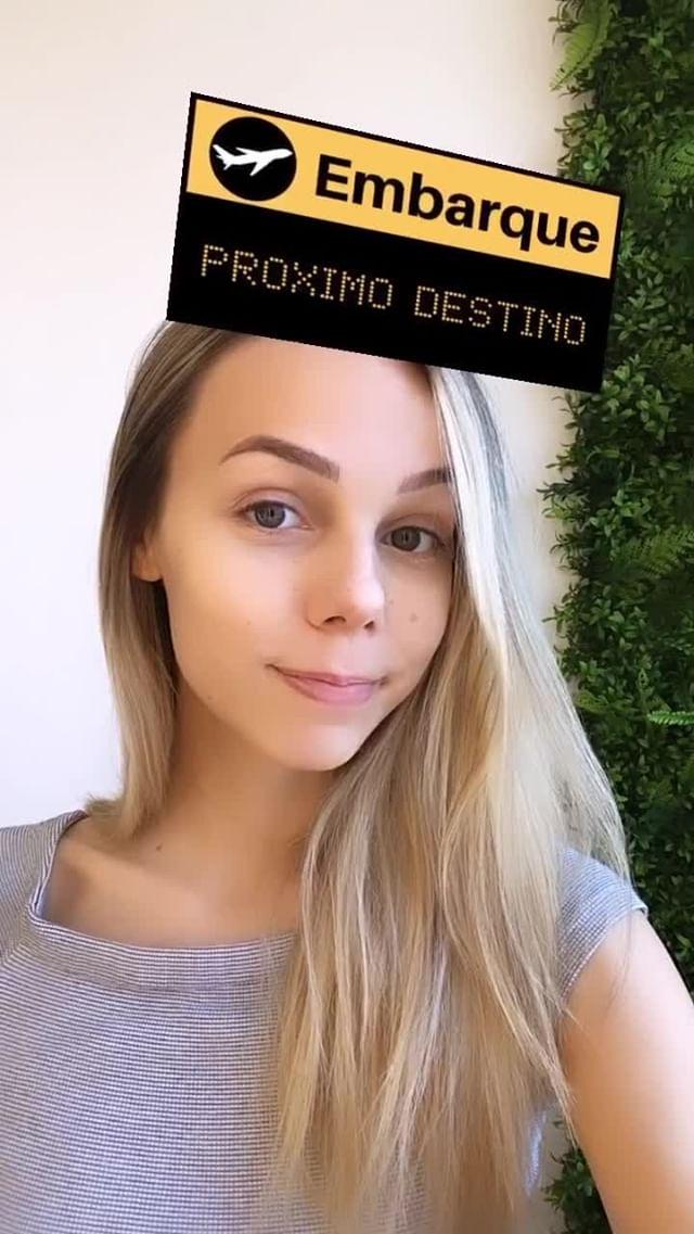 byrafaviana Instagram filter PRÓXIMO DESTINO