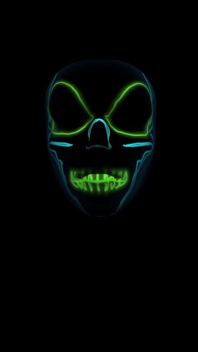 ozcelik Instagram filter Neon Mask