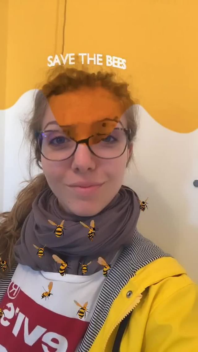 Instagram filter Save bees