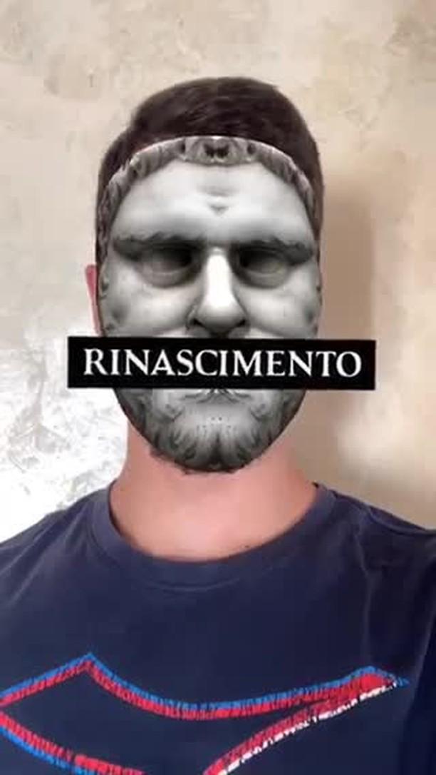 Instagram filter NTÒ Rinascimento