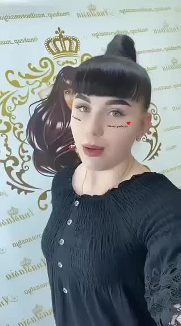 makeup_nasilnowanastya Instagram filter I love my job