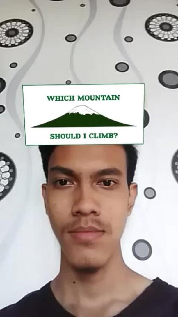 Instagram filter Which Mountain