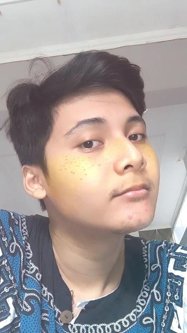 Instagram filter Freckles Shine