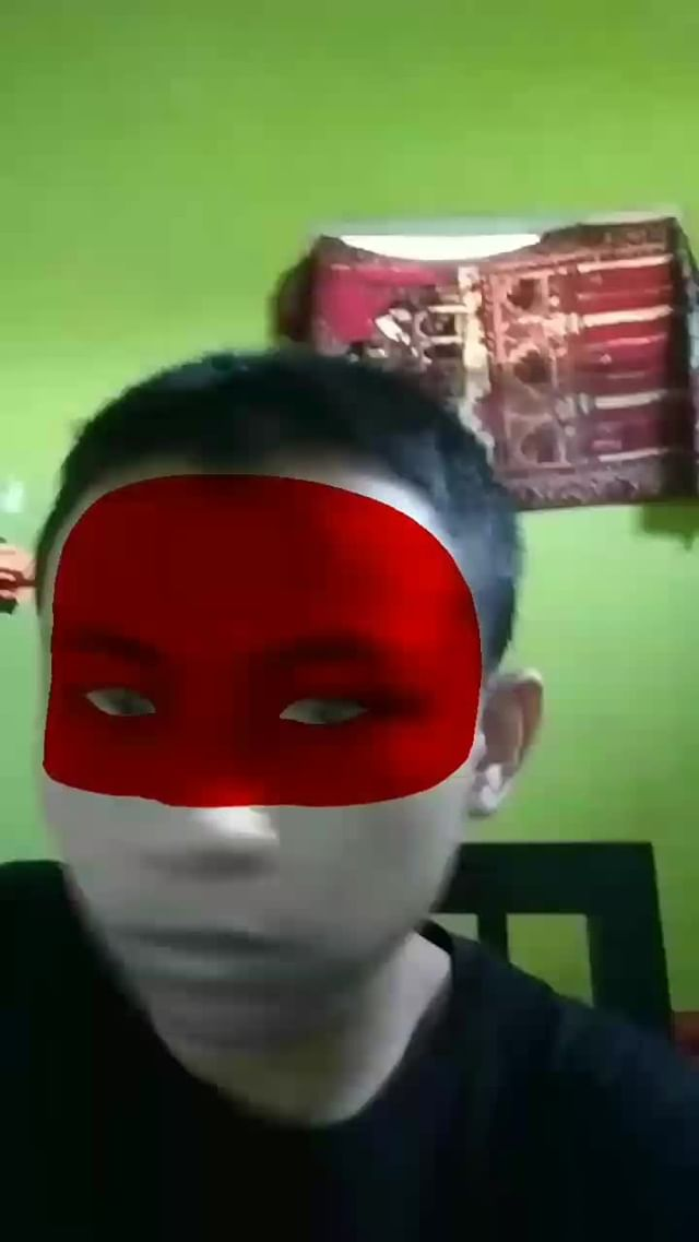 Instagram filter Indonesia Face Paint