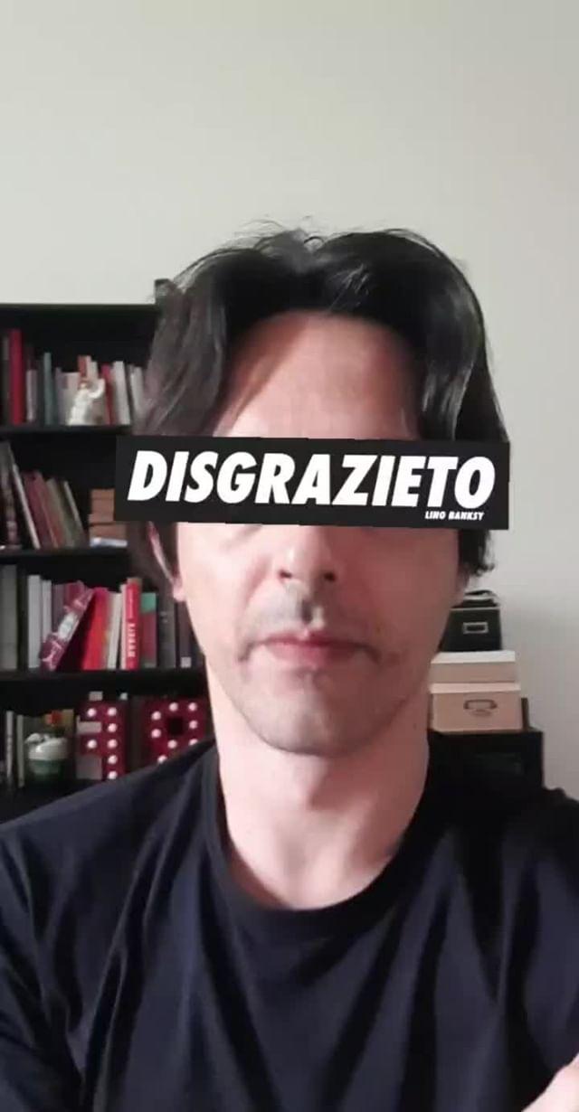 Instagram filter Disgrazieto